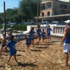 Beach camp bagno 18 Rimini marina centro mini beach volley