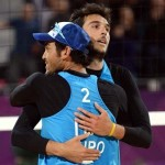 Beach Volley Londra: gli azzurri Lupo-Nicolai vincono alla prima
