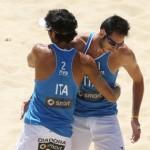 Beach volley a Ortona, maxischermo per Nicolai-Lupo alle Olimpiadi