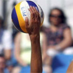 Beach volley il Grand Slam 2013 al Gstaad Palace in Svizzera